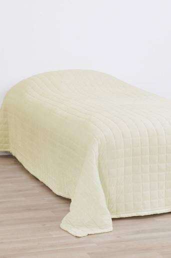SAM-päiväpeite kapeaan sänkyyn 180x260 cm Valkoinen