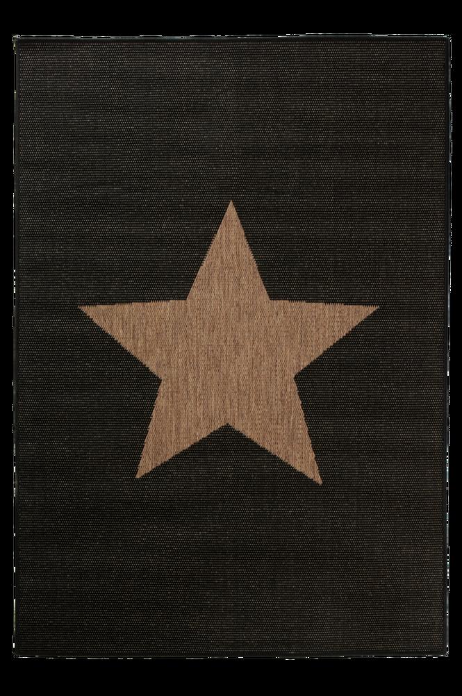STJÄRNA bouclématta 133×190 cm