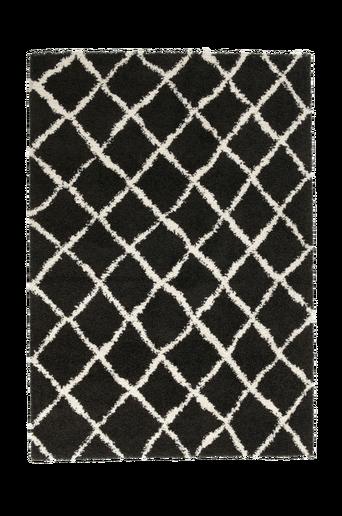 COSY-ryijymatto, 160x230 cm Musta
