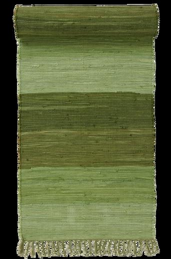 HARMONI-räsymatto, 70x100 cm Vihreä