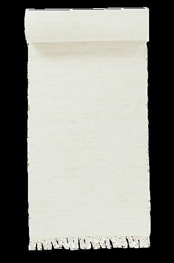 CINA-räsymatto, yksivärinen 70x200 cm Valkoinen