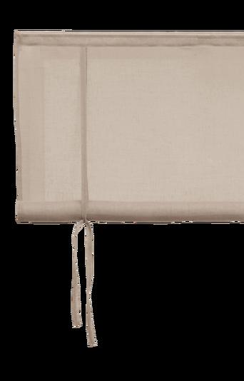 PIGGELIN-laskosverho Vaaleanharmaa