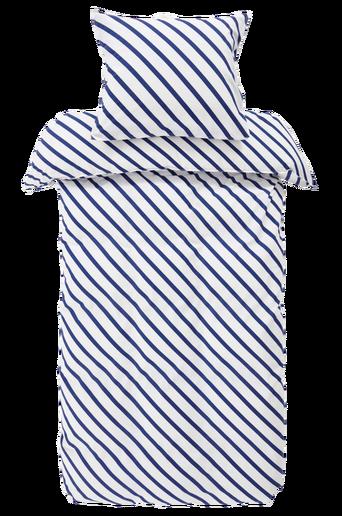 Ekologinen LINES-pussilakanasetti, 2 osaa Sininen