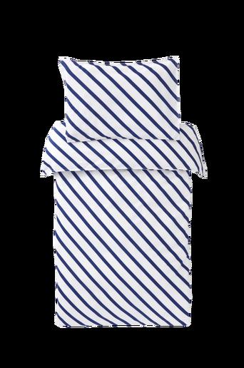 Ekologinen vauvan LINES-pussilakanasetti, 2 osaa Sininen