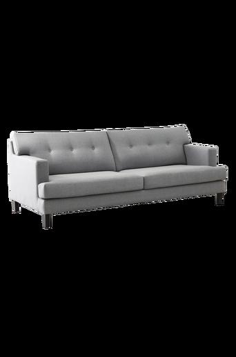 SALINAS-sohva, 3:n istuttava Harmaa