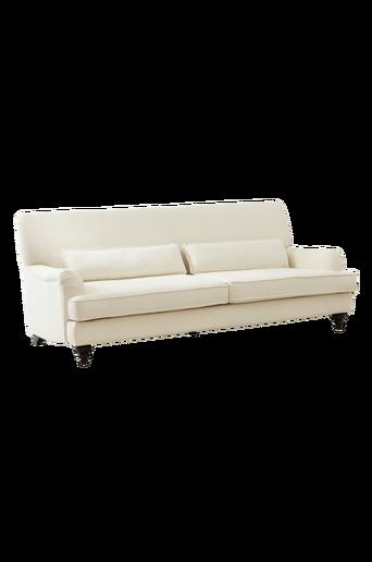RIVERDALE-sohva, 3:n istuttava Luonnonvalkoinen