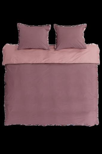 PERCALE-pussilakanasetti, 3 osaa Roosa/tumma roosa