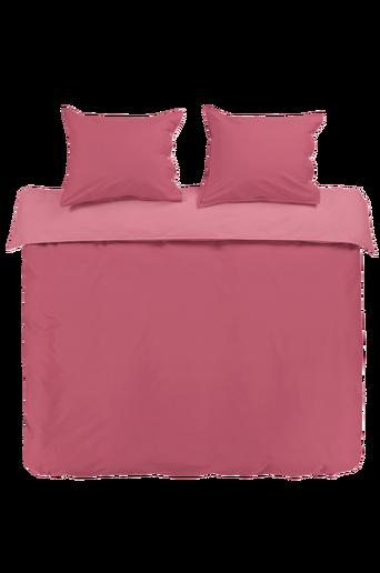 PERCALE-pussilakanasetti, 3 osaa Kanervanroosa/vaalea roosa