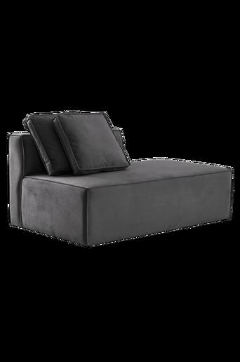BALTIMORE-sohvamoduuli, iso.Selkänoja + 2 tyynyä Harmaa