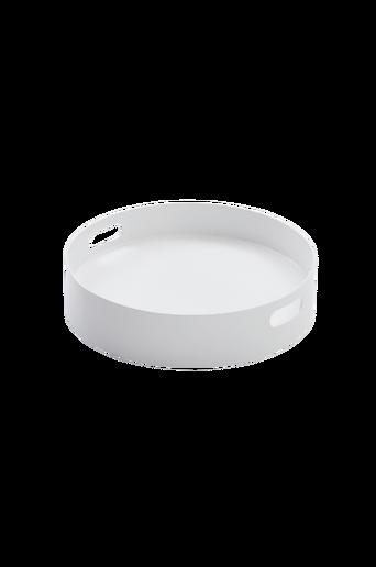 FÄRGHEM-tarjotin ø 40 cm Valkoinen