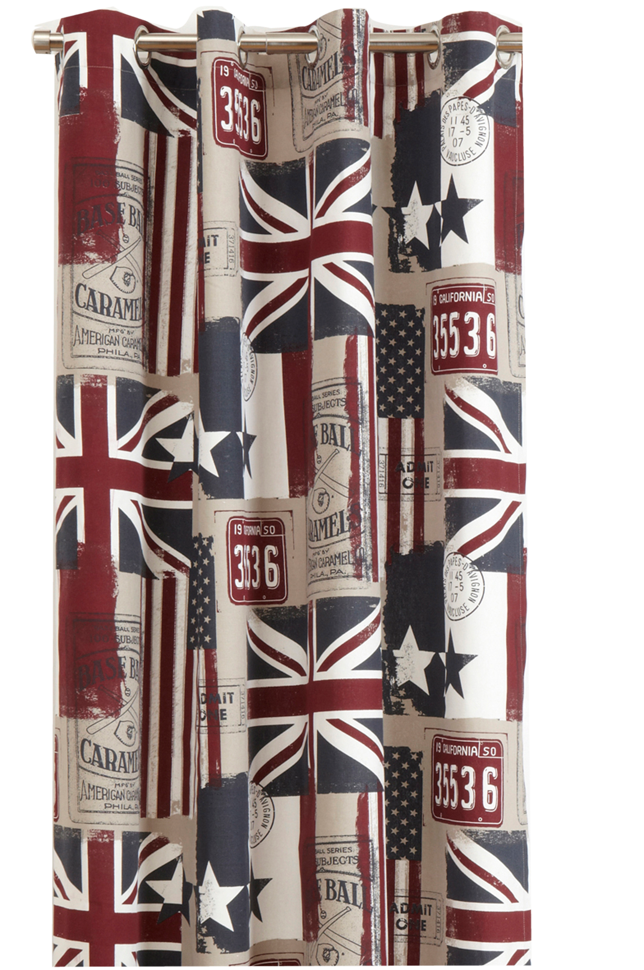 ... FLAGS lengde med maljer 2-pk - m?nstret - Natur - Gardiner - Ellos.no