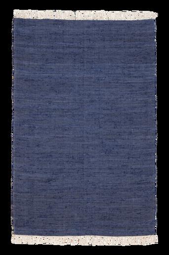 CINA-räsymatto, yksivärinen 70x150 cm Sininen