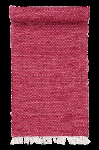 CINA-räsymatto, yksivärinen 70x150 cm Punainen