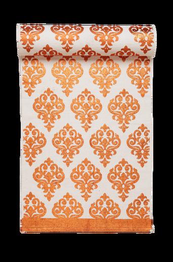TARANTO-puuvillamatto 70x100 cm Valkoinen/kupari