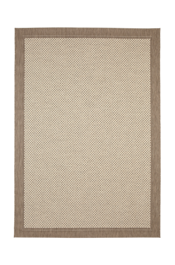 TOSCANA-bukleematto 135x190 cm Ruskea/vaaleanruskea