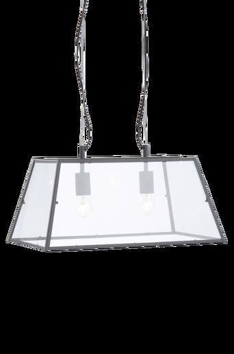 SPAIN-kattovalaisin - 2 lamppua Harmaa