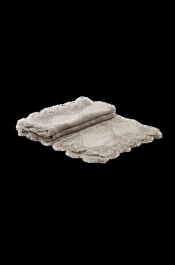 CELINE-torkkupeitto, 120x150 cm Harmaa