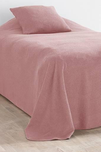 FLISA-päiväpeite kapeaan sänkyyn 180x260 cm Roosa