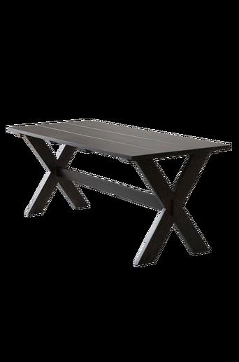 NYKULLA-pöytä 80x200 cm Mustanruskea