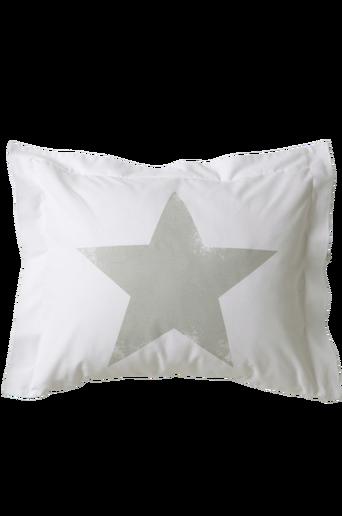 NOVA-tyynyliina, iso tähti Vaaleanharmaa