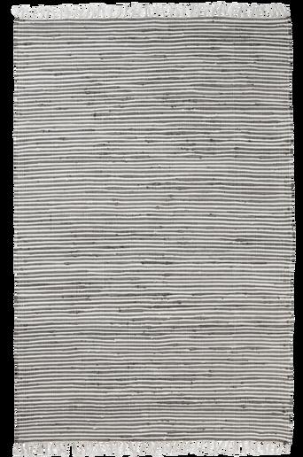 VIOLA-räsymatto 130x190 cm Harmaa/valkoinen