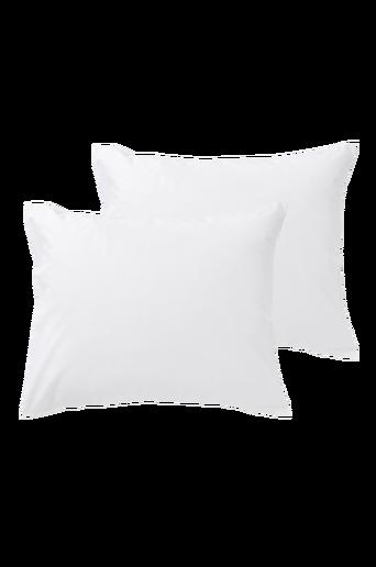 RUBY-tyynyliinat, 2/pakk. 60x50 cm Valkoinen