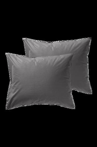 RUBY-tyynyliinat, 2/pakk. 60x50 cm Tummanharmaa
