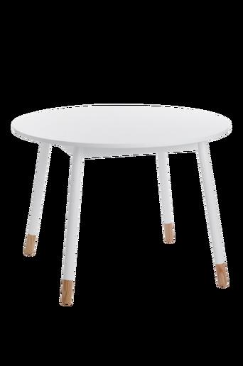 KINNA-ruokapöytä ø 100 cm Valkoinen