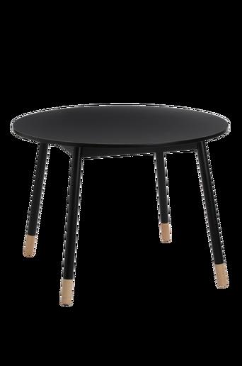 KINNA-ruokapöytä ø 100 cm Musta