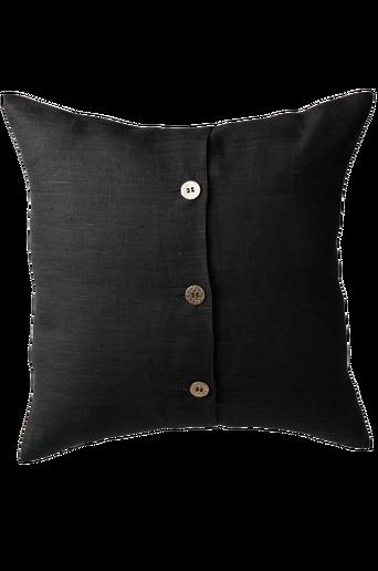 LIV-tyynynpäällinen tiivistä pellavaa 47x47 cm Musta