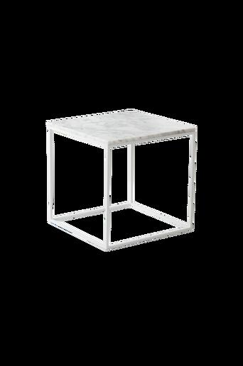 NYLAND-sohvapöytä 40x40 - marmoria Valkoinen