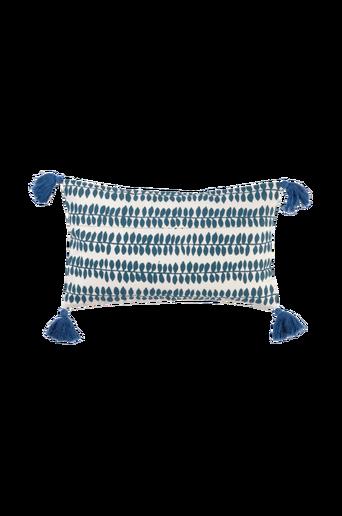 FLOWER PATCH -tyynynpäällinen 50x30 cm Sininen