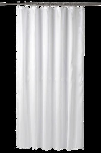 NICE-suihkuverho Valkoinen