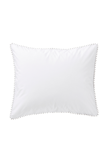 POM-tyynyliina 60x50 cm Valkoinen/harmaa