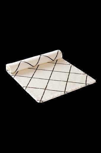 KELLY-kaitaliina Musta/valkoinen