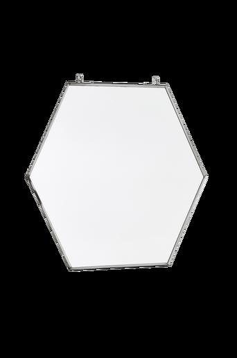Iso HEXAGON-peili Krominvärinen