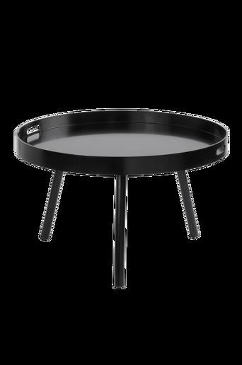 HILLTORP-sohvapöytä ø 80 cm Musta