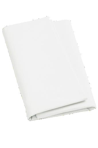 ZACK-aluslakana – leveä, ekologista puuvillaa Valkoinen