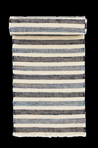 TIRIA-puuvillamatto 70x250 cm Sininen