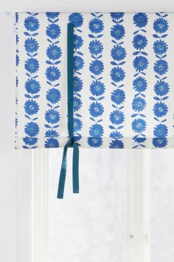 FLOWER PATCH -laskosverho Sininen