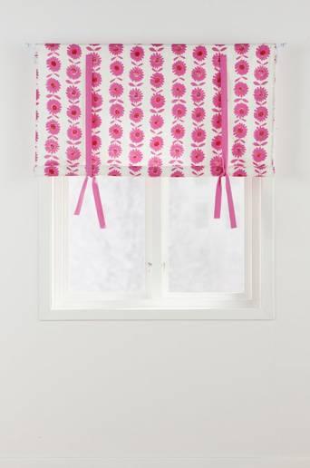 FLOWER PATCH -laskosverho Punainen