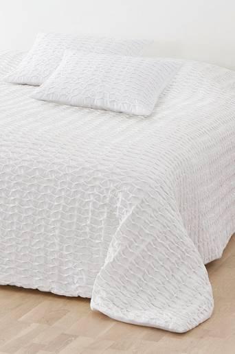 JOHANNA-päiväpeite – parisänkyyn 260x260 cm Valkoinen