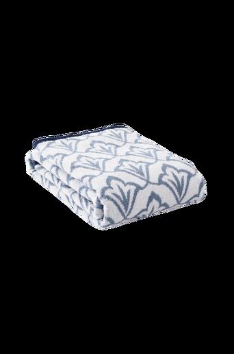 NADETTE-kylpypyyhe Sininen/luonnonvalkoinen