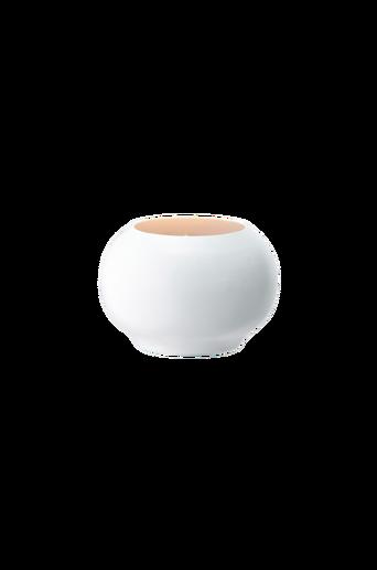 OLOVSVIK-kynttiläkuppi Valkoinen