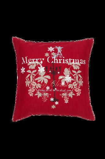 NOELLE-tyynynpäällinen 50x50 cm Punainen/monivärinen