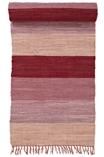 HARMONI-räsymatto, 70x250 cm Luumuliila