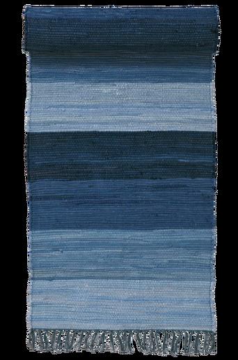 HARMONI-räsymatto, 70x250 cm Sininen