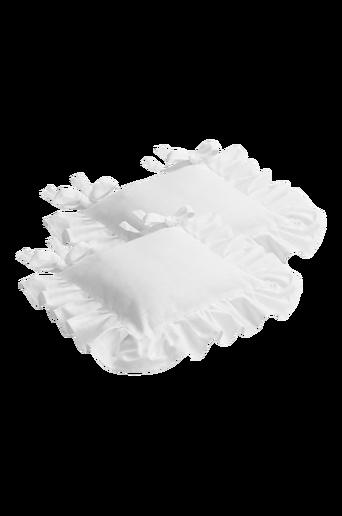 GUSTAVIA-istuintyynynpäälliset, 2/pakk. Valkoinen