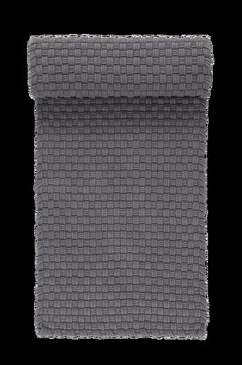 IMPERIA-puuvillamatto 70x350 cm Tummanharmaa