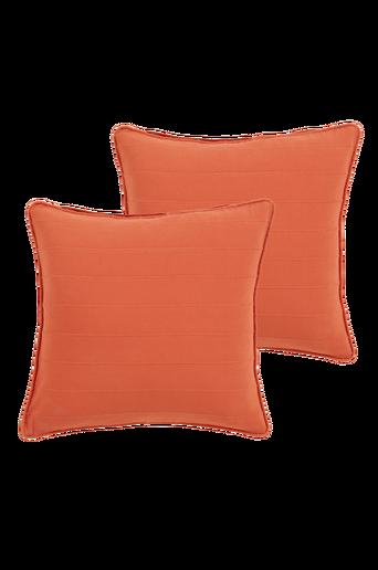 DRÖMMA-tyynynpäälliset, 2/pakk. 50x50 cm Tiilenpunainen
